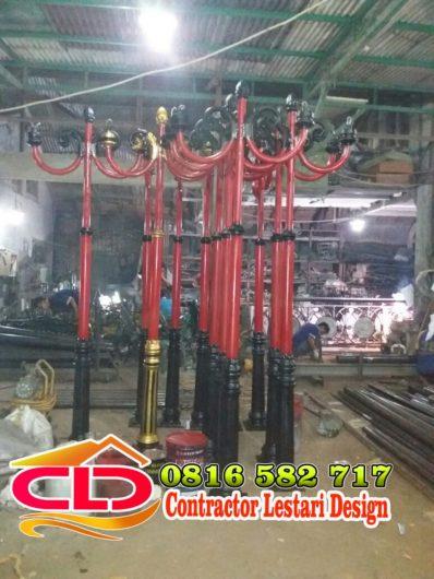 Produsen Tiang Lampu Taman Jasa Kontraktor Indonesia