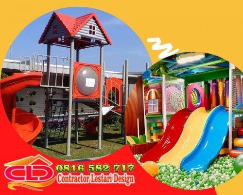 Playground Indoor dan Outdoor