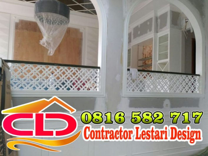 railing balkon klasik, railing balkon mewah,railing balkon tempa klasik,railing balkon modern klasik