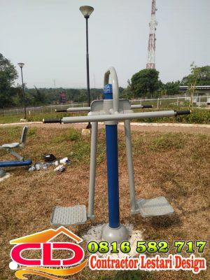 fungsi alat fitnes taman,model alat fitnes taman,jenis alat fitness taman,contoh alat fitness taman