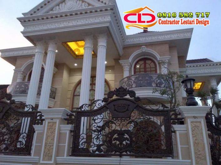 kontraktor rumah mewah,kontraktor rumah klasik,jasa bikin rumah klasik