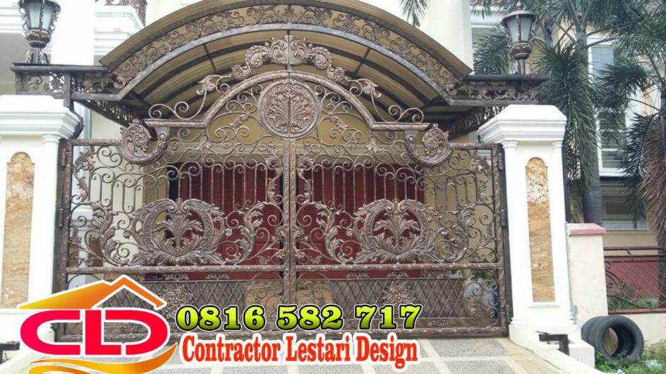 pagar besi tempa,jenis pagar besi tempa, spesialis pintu gerbang klasik