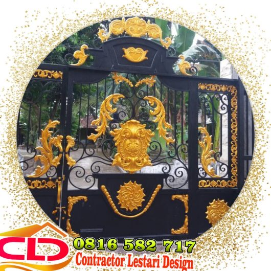 pintu gerbang klasik jogja,pintu gerbang mewah jogja,pagar klasik jogjo,pagar mewah jogja