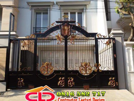 pintu gerbang mewah klasik,pintu gerbang model klasik,pintu gerbang ,pagar gerbang