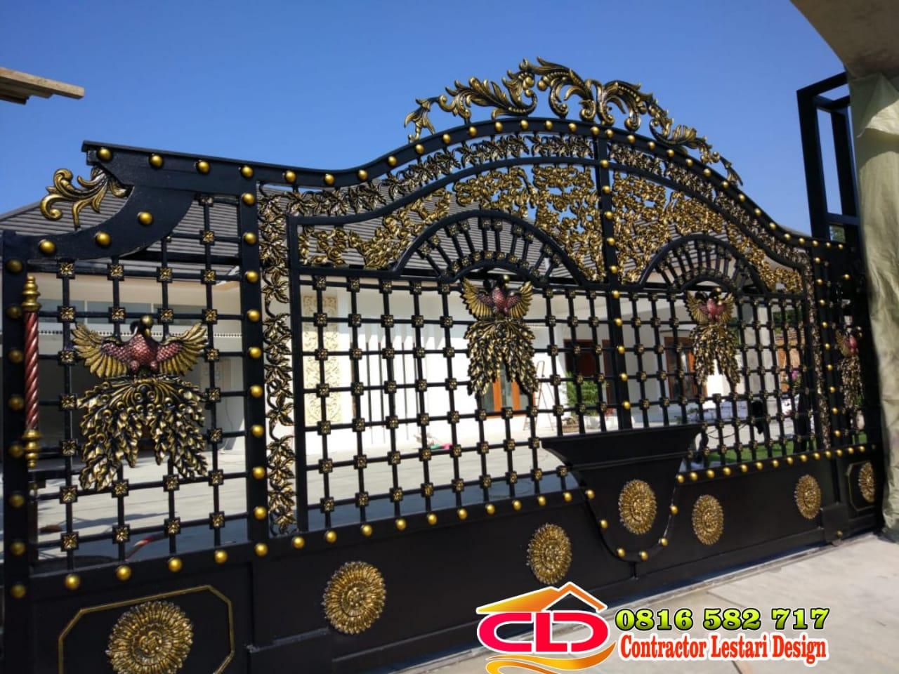 pintu gerbang mewah medan,pagar klasik semarang,pagar klasik cirebon,pagar klasik samarinda