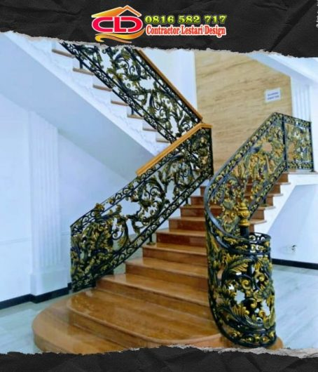 railing besi tempa,railing besi alferon,railig rumah klasik