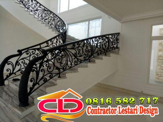 railing mewah, railing klasik,railing moderen klasik,railing tanngga