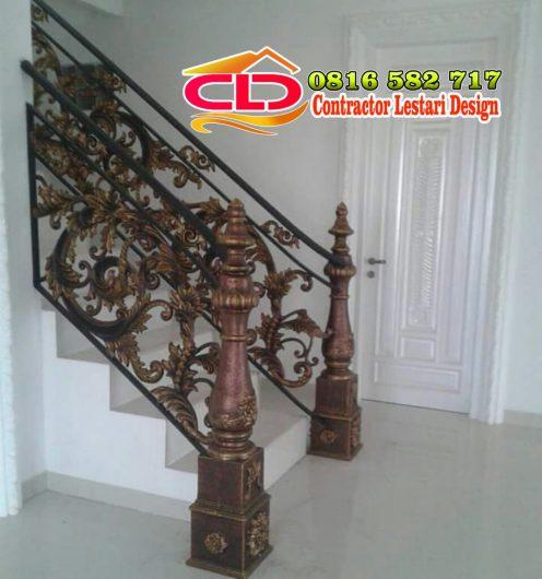 railing tangga almuniun,railing tangga laser kating,model railing tannga