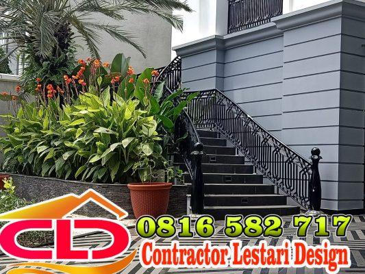railing tangga klasik,tangga mewah,railing tangga,railing tangga tempa klasik