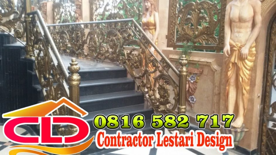 railing tangga klasik,spesialis railing tangga mewah,spesialis railing tangga