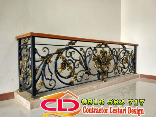 spesialis railing klasik,jenis railing besi tempa,railng besi klasik mewah