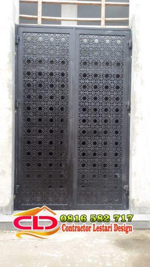 ralis pintu,teralis pintu hed kuningan,teralis pagar kuningan,teralis balkon