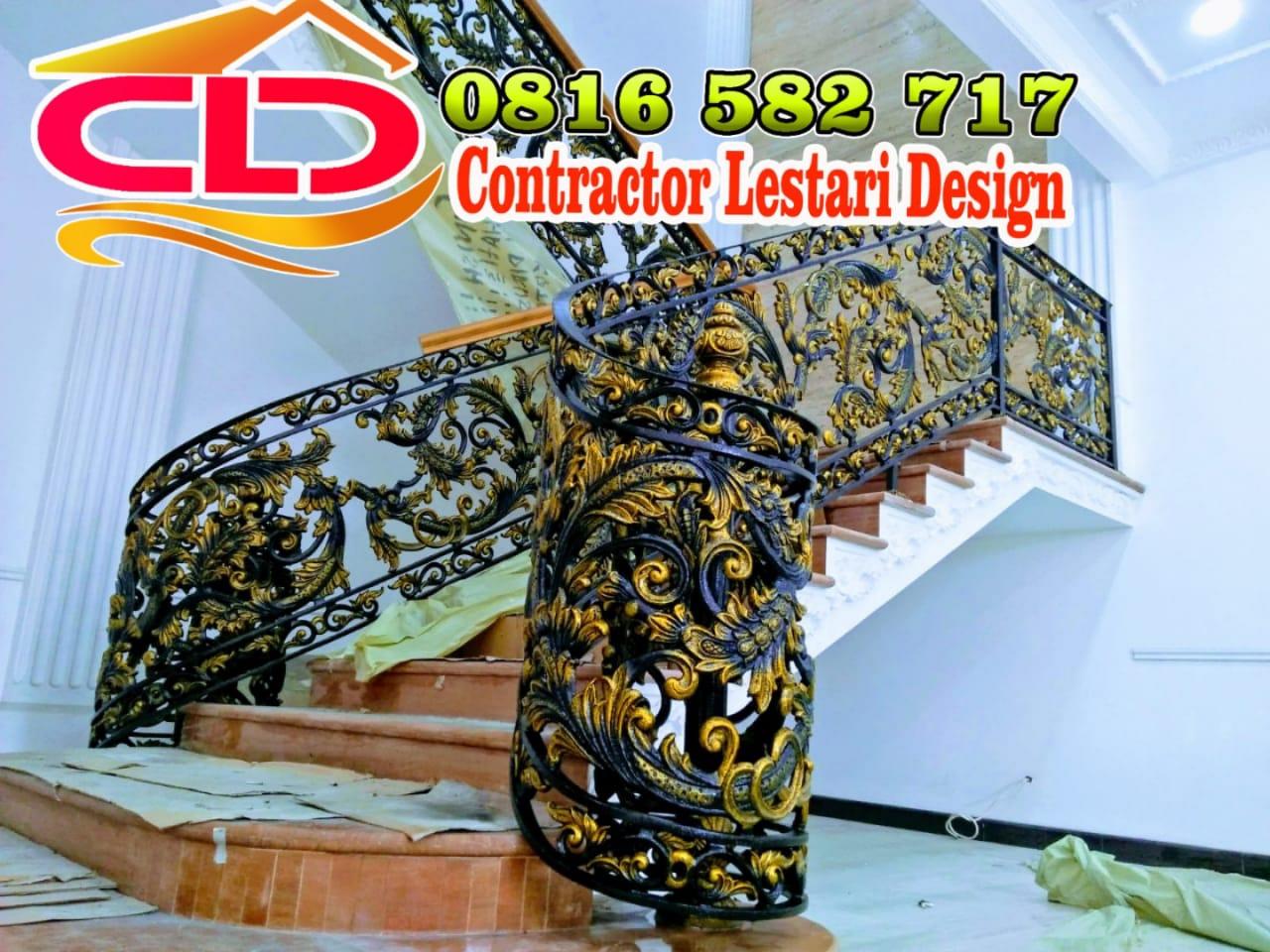 railing klasik,railing besi tempa,railing besi klasik