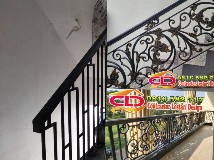 jasa pembuatan railing klasik,jasa pembuatan railing mewan,railing klasik