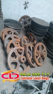 jasa pengecoran roda,jasa peleburan bikin roda,spesialis bikin roda,roda besi,roda kuningan,roda besi fc