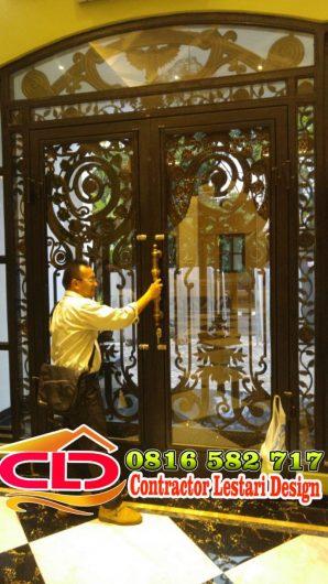 pintu minimalis,tralis minimalis,desain pagar besitempa minimalis,foto pagar minimalis,gambar pagar besi tempa