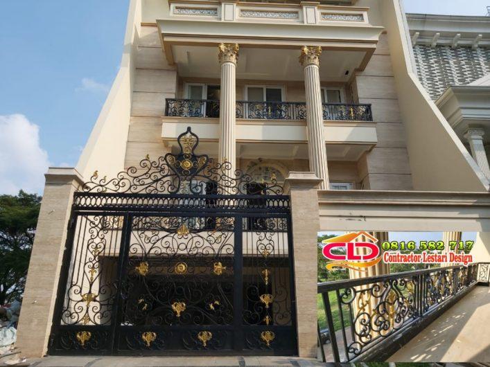railing besi tempa,railing mewah jakarta,jenis railing klasik,contoh railing klasik mewah