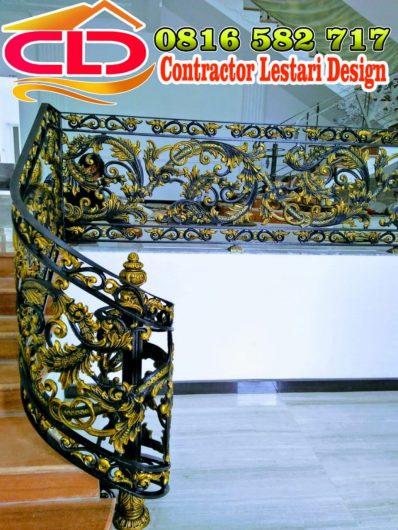 railing klasik,railing mewah,railing besi tempa