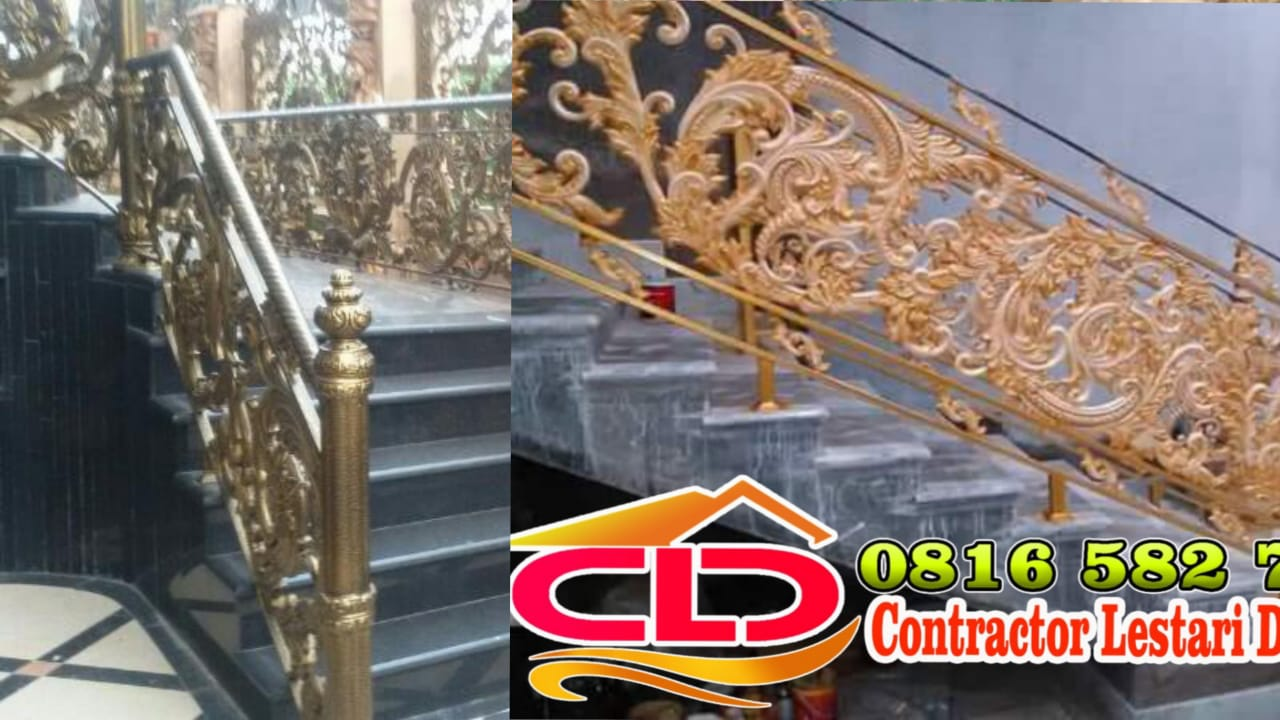 railing tangga jakarta,railing tangga cinbubur,railing tangga tempa mewah