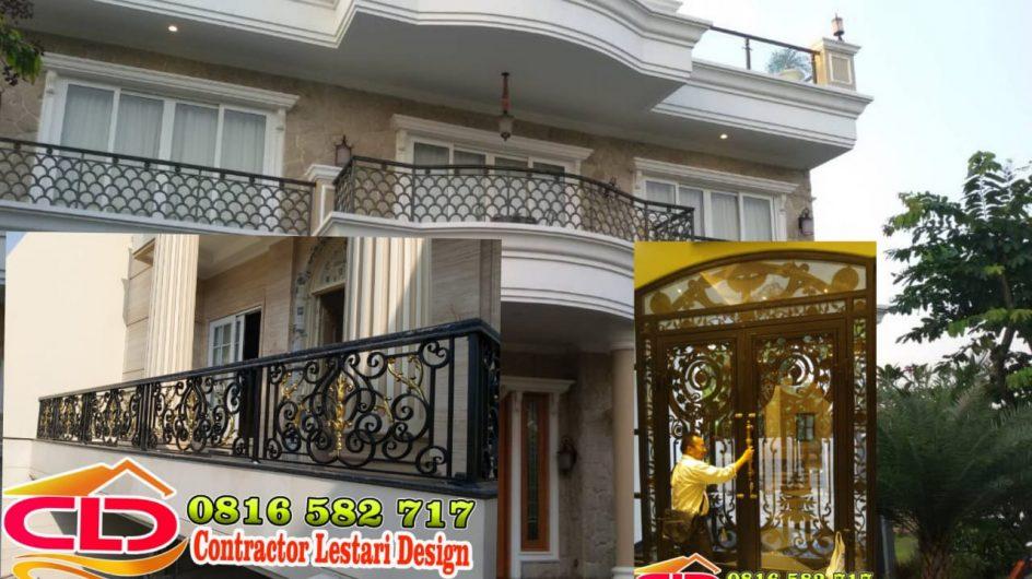 railing tangga mewah,railing tangga klasik,railing tempa mewah,railing tangga