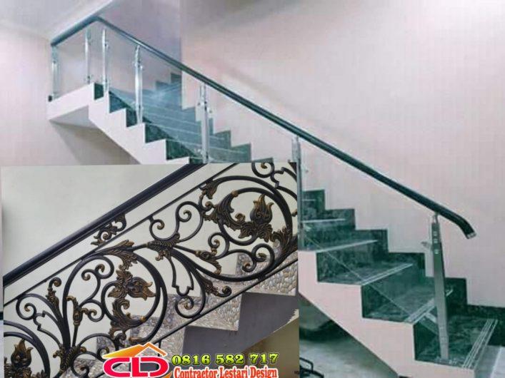 railing tangga minimalis klasik,spesilais railing mewah,railing tangga mewah jakarta