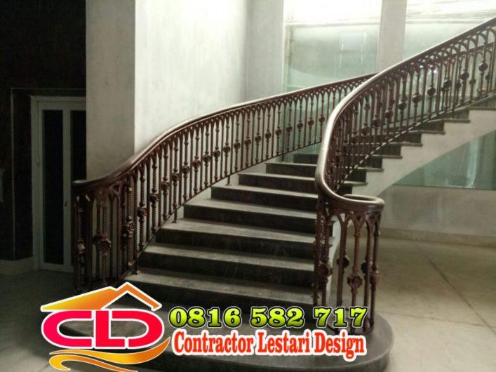 railing tangga rumah mewah,railing tangga tenpa mewah,railing tangga