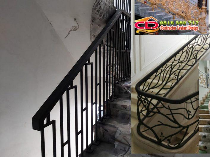 railing tangga tempa mewah,railing tangga klasik,railing tangga mewah