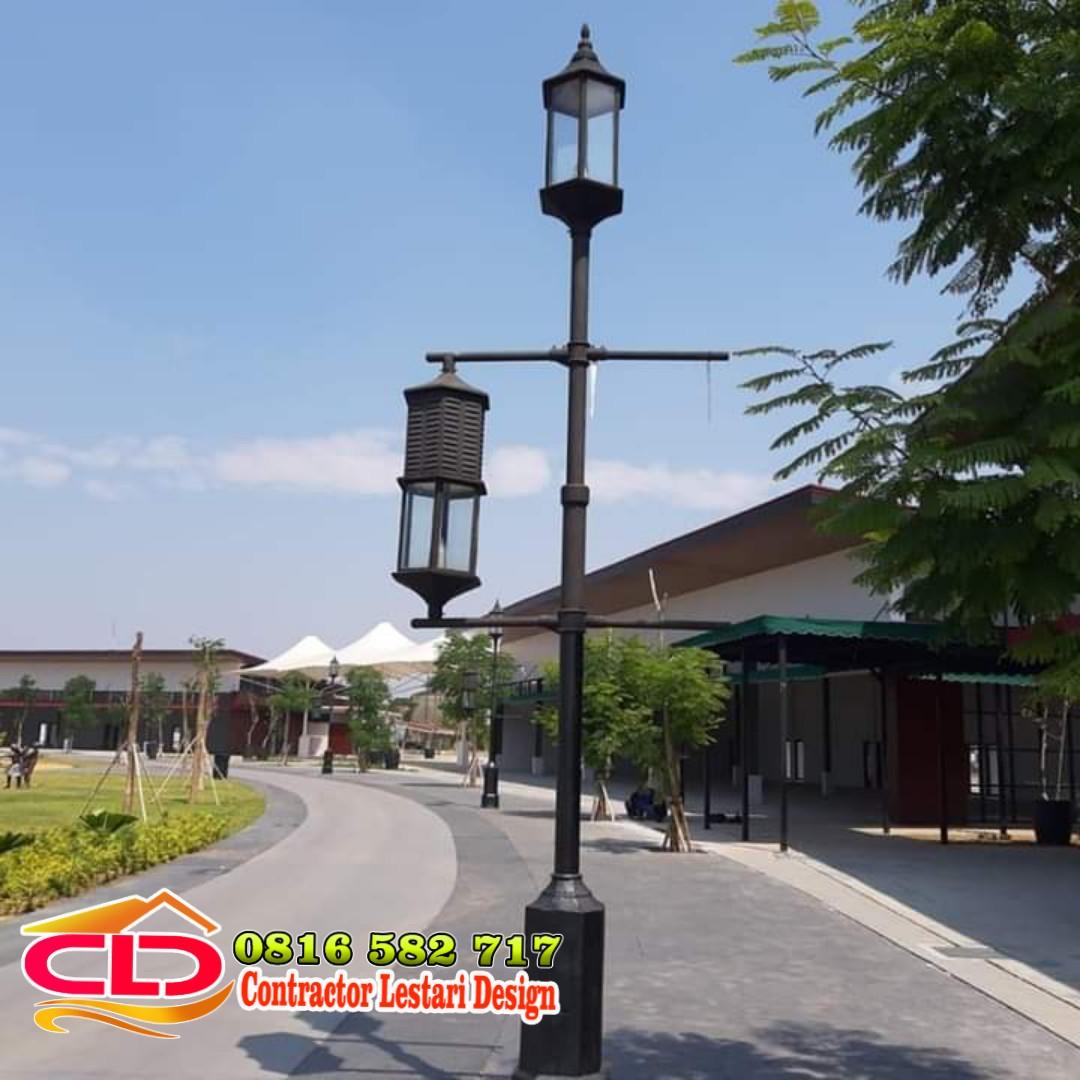 tiang lampu taman minimalis,lampu pju minimalis,jenis lampu taman