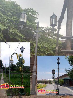 tiang lampu taman surabaya,tiang lampu taman makassar,jual lampu taman murah